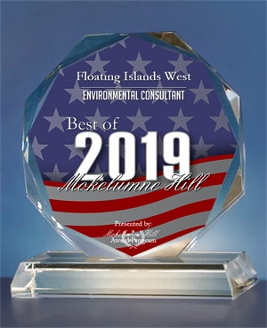 2019 Best of Mokelume Hill, California Awards Floating Islands West